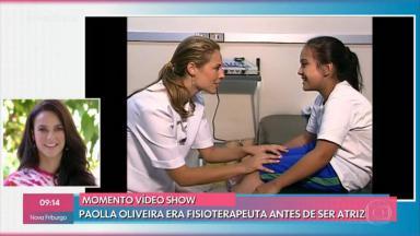 """Paolla Oliveira no """"Mais Você"""""""