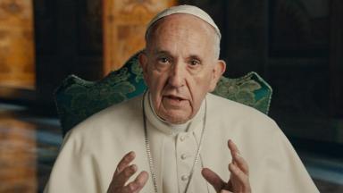 Papa Francisco no seu documentário