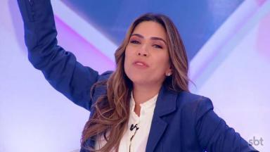 """Patrícia Abravanel no """"Programa Silvio Santos"""""""