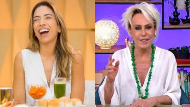 Patricia Abravanel usou bordão de Ana Maria Braga para anunciar novo programa matutino do SBT