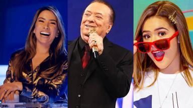 Maisa, Raul Gil e Patrícia Abravanel