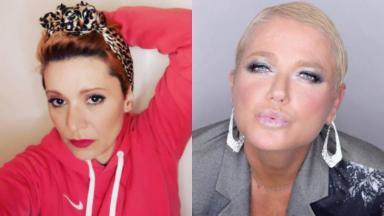 Patrícia Marx debochou de Xuxa em live no Instagram e a acusou de copiá-la