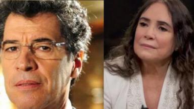 Regina Duarte e Paulo Betti