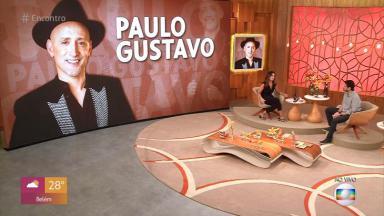 Encontro com Fátima Bernardes fez homenagem para Paulo Gustavo