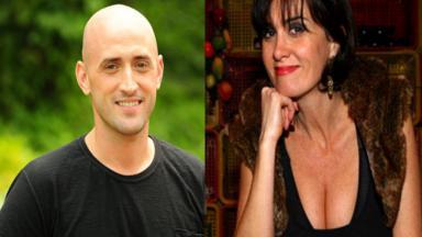 Paulo Gustavo e Márcia Cabrita