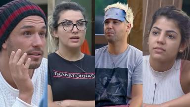 Após recorde nas primeiras semanas  do reality show, os participantes mudaram