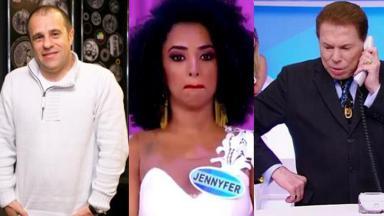 Fernando Pelégio, Jennyfer e Silvio Santos