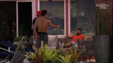 Os brothers acabaram se desentendendo após votação para o segundo paredão