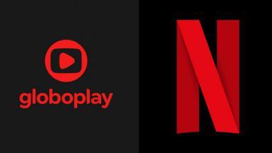 Logotipo Netflix e Globoplay