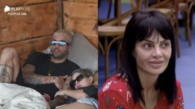 Gui Araújo, Lary e Valentina em A Fazenda 2021
