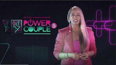 Adriane Galisteu apresenta o Power Couple