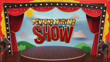 Logotipo do Devotos Mirins Show