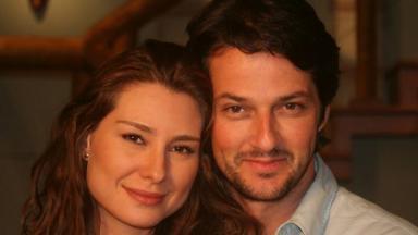 Lavínia Vlasak e Marcelo Serrado em Prova de Amor