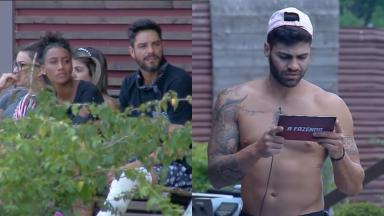 Netto Rodrigues lê nova punição no reality show A Fazenda 2019