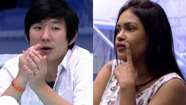 Pyong Lee e Flayslane no BBB20