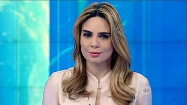 Rachel Sheherazade  durante o SBT Brasil
