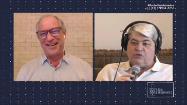 Ciro Gomes e Datena na rádio Bandeirantes