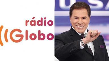 Silvio Santos e Rádio Globo