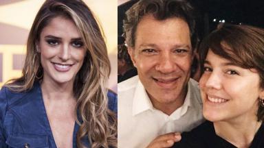 Rafa Brites, Fernando Haddad e Alice Wegmann