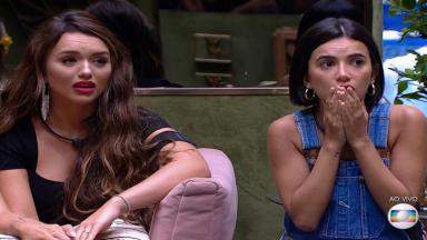 Rafa e Manu durante o reality show BBB20