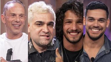Rafael Ilha, Evandro, João Zoli e Caique Aguiar