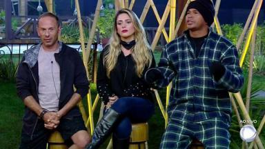 Rafael Ilha, Nadja Pessoa e Aloísio Chulapa