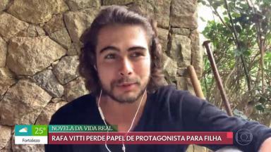 Rafael Vitti participando do É de Casa