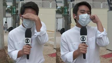 """Repórter Rafael Ihara se envergonha ao ser chamado de """"cuti-cuti"""""""