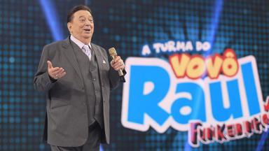 Raul Gil em seu programa no SBT