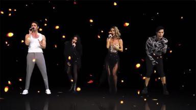 Live Ser o Parecer, do RBD, tem nostalgia, efeitos especiais e homenagem a integrantes ausentes