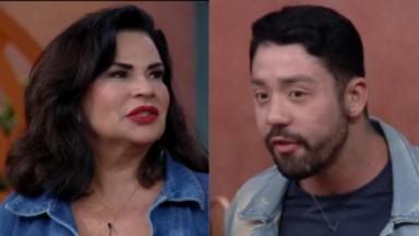 Solange Gomes e Rico Melquiades ficam nervosos após votação em uma para uma prova de A Fazenda