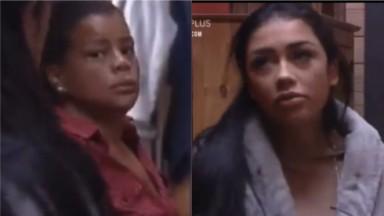 Tati Quebra Barraco vai até a despensa para tirar esclarecimento com Fernanda Medrado