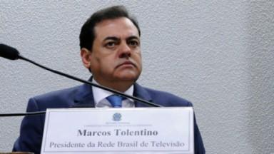 Marcos Tolentino, dono da Rede Brasil