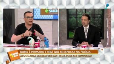 Felipeh Campos e Jorge Lordello no programa A Tarde é Sua