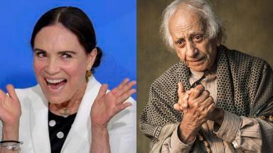 Regina Duarte e Flávio Migliaccio