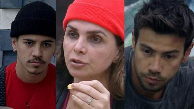 Biel, Luiza Ambiel e Mariano