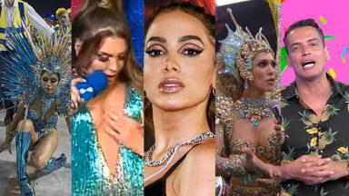 Lexa, Simony, Anitta, Lívia Andrade e Leo Dias