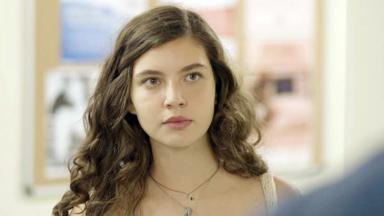 Alanis Guillen interpretando Rita de Malhação