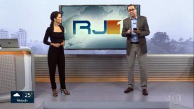Mariana Gross e  Edimilson Ávila comandam o RJTV1
