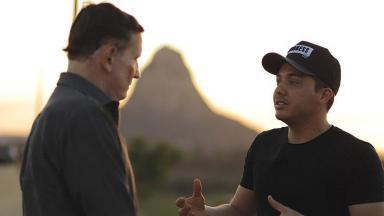 Wesley Safadão em entrevista a Roberto Cabrini
