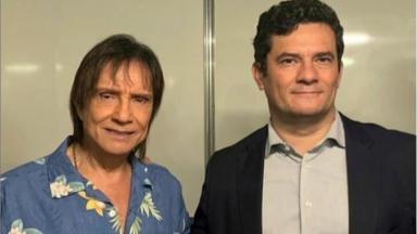Roberto Carlos e Sérgio Moro