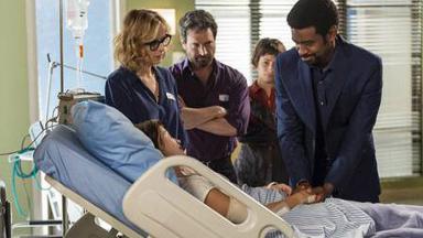 Roberval e Rochelle no hospital