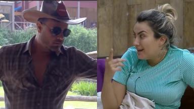 Peões acabaram se desentendendo novamente no reality show A Fazenda 2019