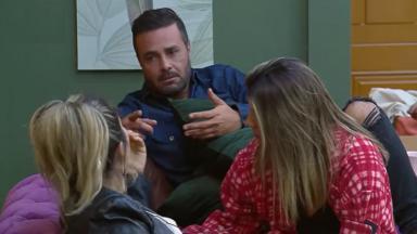 Rodrigo Phavanello bateu de frente com Thayse Teixeira no reality show A Fazenda 2019
