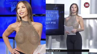 A apresentadora argentina Romina Malaspina