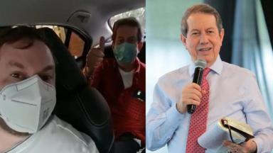 R.R. Soares recebeu alta após ter sido internado com Covid-19