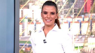 A jornalista Sabina Simonato
