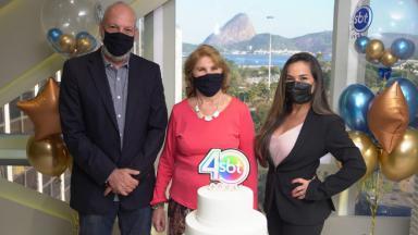 Inauguração da nova sede do SBT Rio