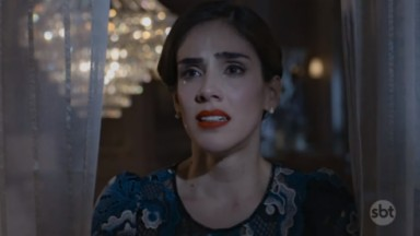 Cena de A Usurpadora com Paola chorando