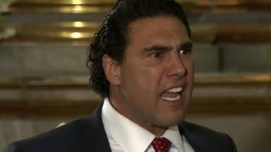 Cena de Amores Verdadeiros com Jose Angelo nervoso